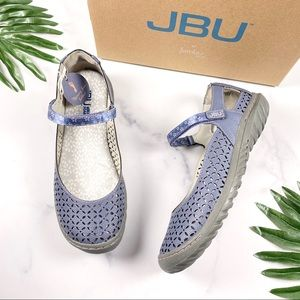 NIB JBU by Jambu Bamboo Mary Jane Flats 8M